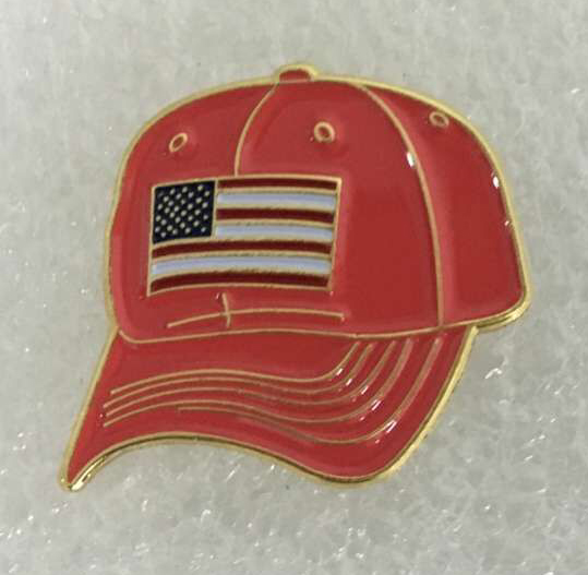 Pins On Caps: One-inch Lapel Pins From Collinson Enterprises